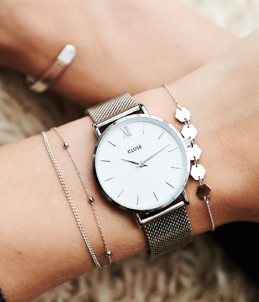 cluse-sieraden-hexagons-bracelet-silver-600