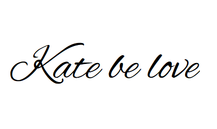 Kate be love